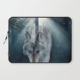 The Gathering - Wolf and Eagle Laptop Sleeve