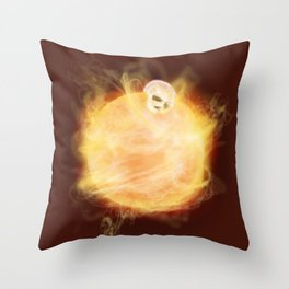 Lost in a Space / Sunlion Throw Pillow