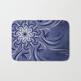 Lavender Flourish Bath Mat