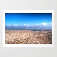 The Dead Sea Series #1 Art Print