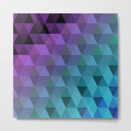 Flight of the Triangles Metal Print
