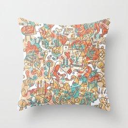 Schema 19 Throw Pillow