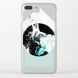 Geometric Textures 2 Clear iPhone Case
