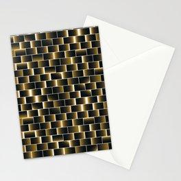Golden set of tiles Stationery Cards