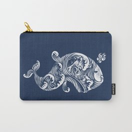 The White Whale  Carry-All Pouch