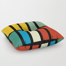 Abstract composition 23 Floor Pillow