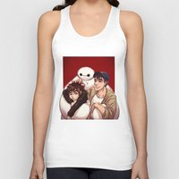 big hero 6 Tank Tops featuring Big Hero 6  by Arashi.C