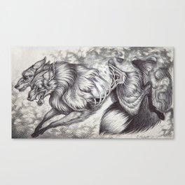Ablaze Canvas Print