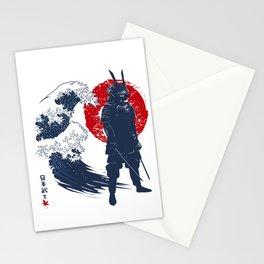 Wave Samurai Stationery Cards