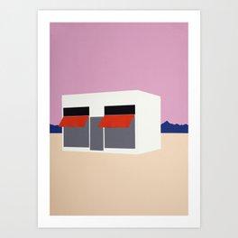 Sunset Boutique Art Print
