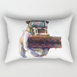 Dozer Bulldozer Rectangular Pillow