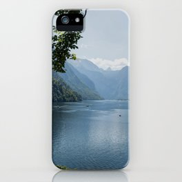 Germany, Malerblick, Mountains - Alps Koenigssee Lake iPhone Case