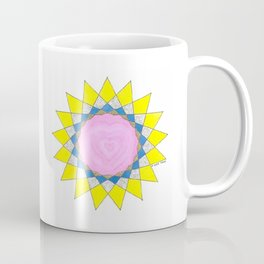 SUN HEART: HONORING ONE'S BEING Coffee Mug