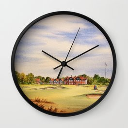 Royal Lytham And St Anne's Golf Course Wall Clock