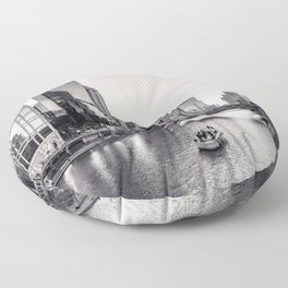 Silver River Floor Pillow