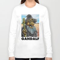 gandalf Long Sleeve T-shirts featuring GANDALF by i live
