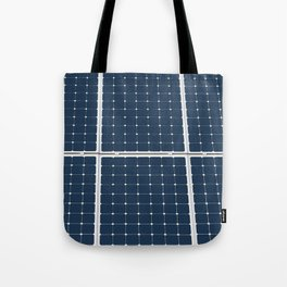 Solar Cell Panel Tote Bag