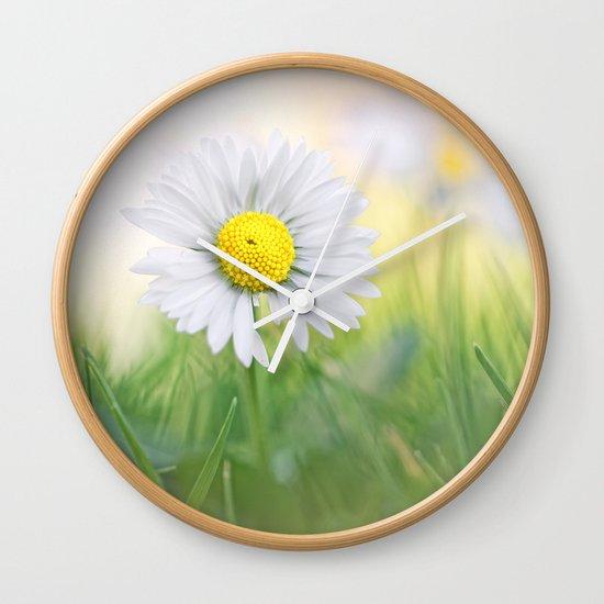 Natural born beauty... Wall Clock