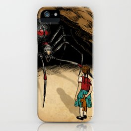 Consultation with the Spider Queen iPhone Case