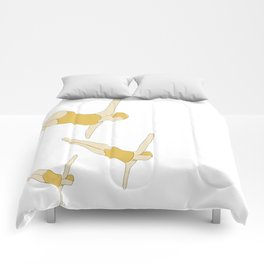 Synchronized Swimmers Comforters