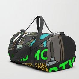 NINTENDO NES RICK AND MORTY Duffle Bag
