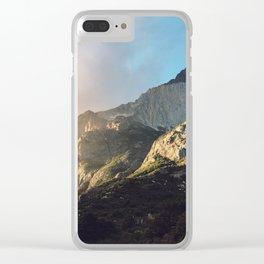 Jurassic Light Clear iPhone Case