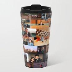 Twin Peaks Illustrated - Complete Poster Metal Travel Mug