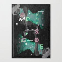 S E X X G O D  I Canvas Print