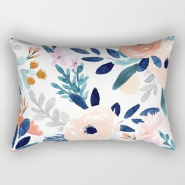 Jolene Floral Rectangular Pillow