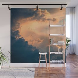 Majestic Clouds Wall Mural