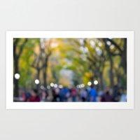 Central Park Fall Series 7 Art Print