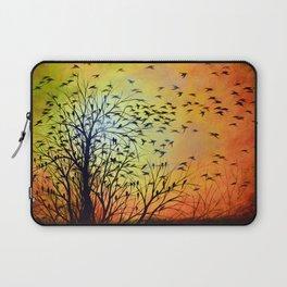 Abstract Landscape Original Painting...HOMEWARD Laptop Sleeve