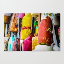 Lobster Buoy Canvas Print