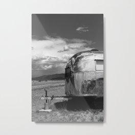 New Mexico Airstream V Metal Print