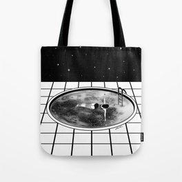 Pool Moon Tote Bag