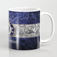 chelsea Mugs featuring CHELSEA by Acus