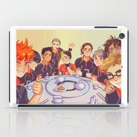 haikyuu iPad Cases featuring Post Practice Lunch by AndytheLemon