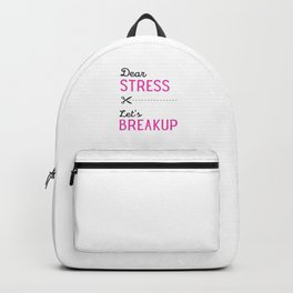 Stress relief Backpack