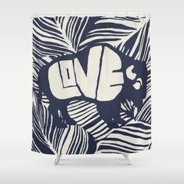 JIVE BUFFALO Shower Curtain