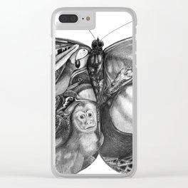 Costa Rican Impressions Clear iPhone Case