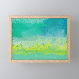 Abstract No. 482 Framed Mini Art Print