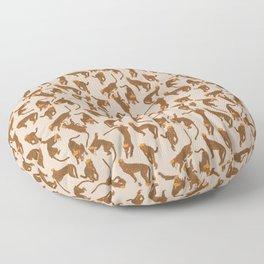 Cheetah Fashionista Floor Pillow