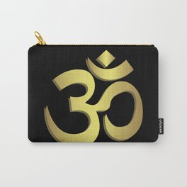 Om ( Aum ) Namaste yoga symbol Carry-All Pouch