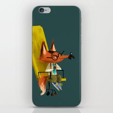 Fox Boss iPhone Skin
