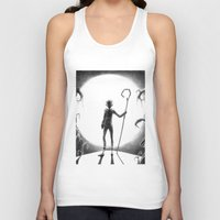 jack frost Tank Tops featuring Jack Frost (Rise of the Guardians) by Grazia Vincoletto