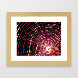 Christmas Lights, part 2 Framed Art Print