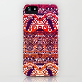 Peacock Patterm iPhone Case