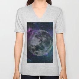 Fading Moon Unisex V-Neck