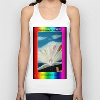 bible Tank Tops featuring THE BIBLE by KEVIN CURTIS BARR'S ART OF FAMOUS FACES