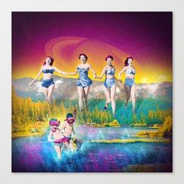 For Heaven's Lake Canvas Print